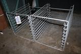 Times 2 - Counter top sheet pan racks