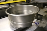 Stainless bowl extension