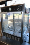 Gold Metal 5550PZ counter top hot pizza display cabinet