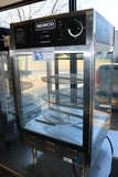 Nemco 6450303 counter top hot pizza display cabinet