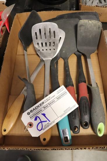 Box to go - 7 spatulas