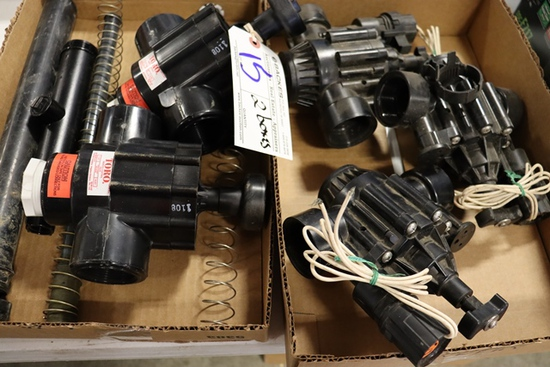 2 Boxes assorted Toro water lawn pumps