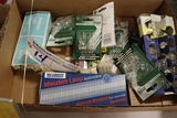 Box of car replacement bulbs
