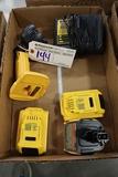 DeWalt 18 volt to 20 volt battery pack w/ charger