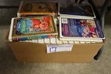 Box of children VSH tapes