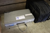 Sony VHS player w/ bag of wires