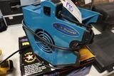 Blue Blower small floor fan