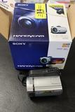 Sony DCR-SR45 camera in box - used
