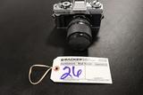 Minolta XG-M camera w/ Kalimar K9942550 - 35-70mm lense lense