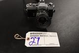 Minolta XD5 camera w/ Minolta Rokkor-X 28mm lense