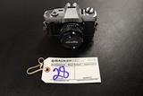 Minolta X-370 camera w/ Minolta Rokkor-X 45mm lense