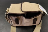 Brown multi pouch camera bag