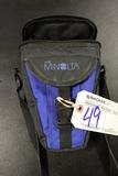 Minolta blue vinyl lense bag