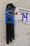 Mac metric Allen wrench set