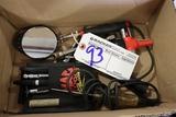 Box air gauges, Schrader valve remover, misc.
