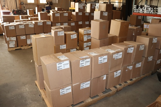 New Truck parts, Shelving, Forklift Auction