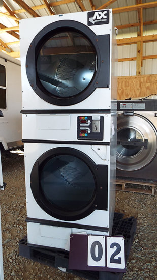 AMERICAN DRYER CORP - DOUBLE STACK DRYERS 120V
