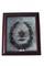 Walnut shadow box frame with mourning wreath