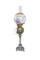 Victorian brass based banquet lamp