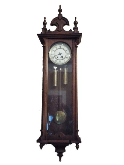 19th century syle wall regulator clock