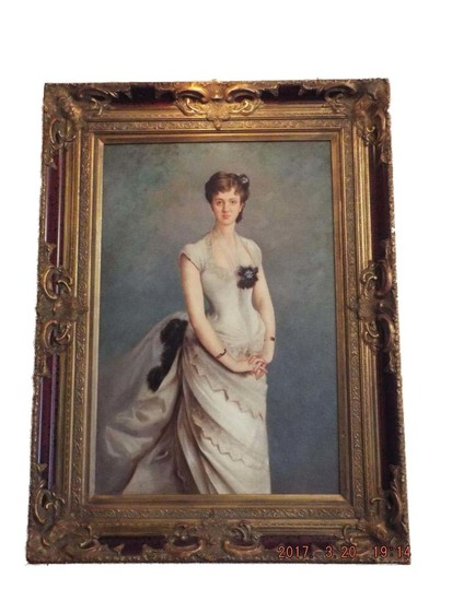 Victorian style portrait (lighted)