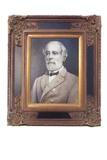 Portrait of General Robert E. Lee, oil on canvas
