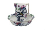 Bowl and pitcher set, Losol Ware
