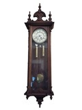 19th century syle wall regulator clock