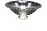 Mayflower hobnail trim pedestal bowl