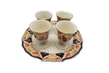 Myott Son and Co. Derby Tone set of 4 egg cups