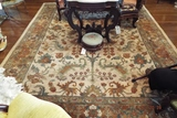 Oriental style (approx. 8' x 10') handmade rug
