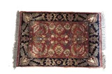 Oriental style carpet (approx. 2' x 3')