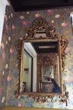 Pair of gold gilded Rococo mirrors