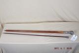 2 sterling handled vintage canes
