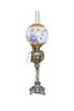 Victorian brass based banquet lamp