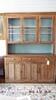 1900's pine step back cupboard