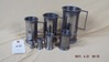 Pewter measuring cups set of 7