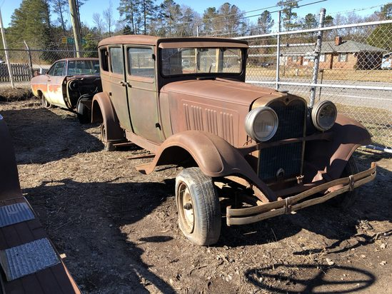 1928  Dodge  Victory 6  Color:  Rust