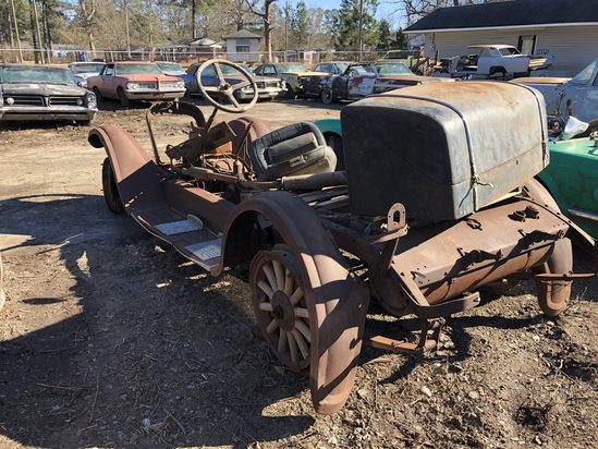 1928  Dodge  4 cyl  Color:  Rust