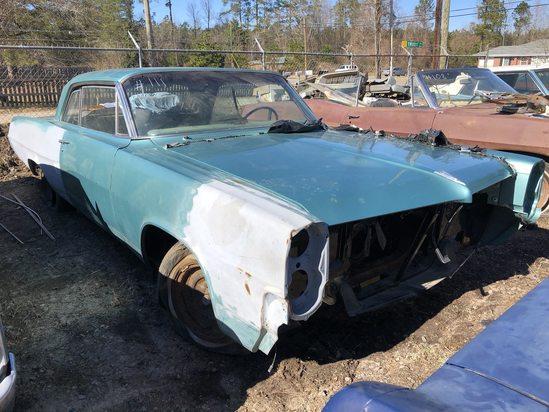 1964  Pontiac  Catalina  Color:  Blue