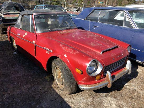 1968  Datsun  1600  Color:  Red