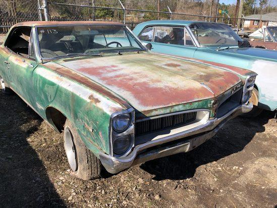 1967  Pontiac  Tempest  Color:  Green