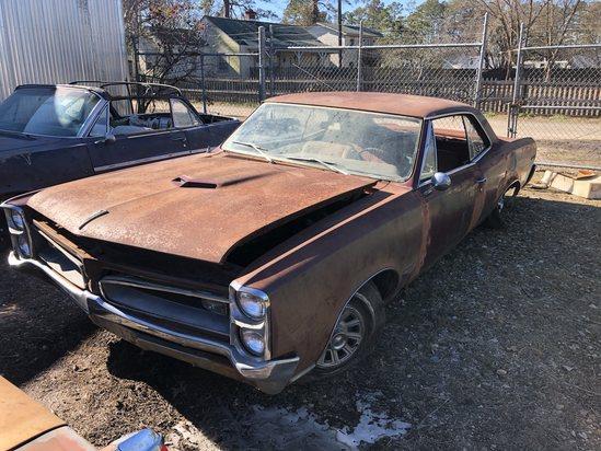 1966  Pontiac  GTO  Color:  Rust