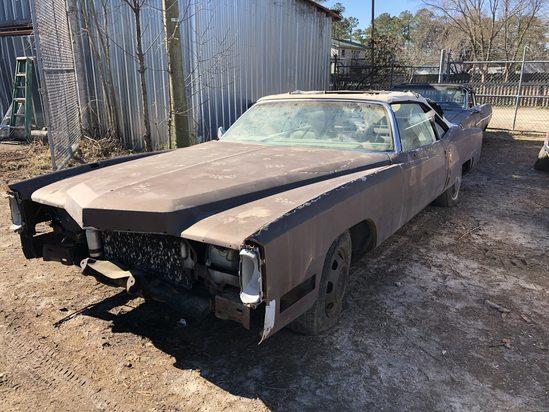 1972  Cadillac  Eldorado convertible  Color:  brown