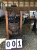 "Eagle Medium Cider Press, approx. 41"" x 40"" x 20"", catch tray has some minor damage"