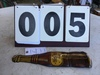 """Nu-Grape metal thermometer, 16 1/2"""" x 4"""", fair condition"""