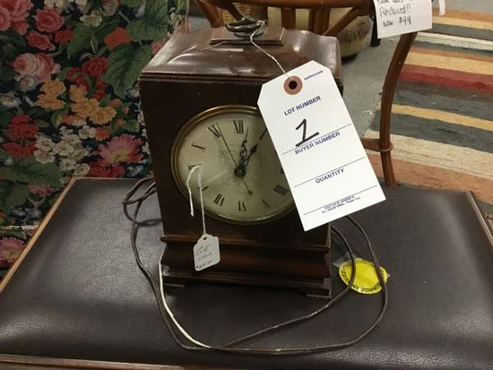 General Electric Wood Case with Electric
