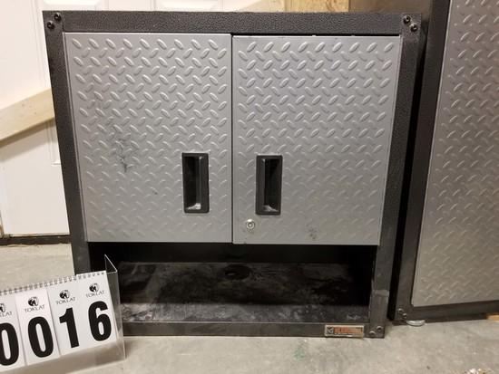 Gladiator 2 Door Cabinet, Wall Mount