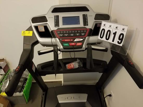 Sole F80 Incline/Speed Control Treadmill with Digital