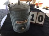 Covey 5 Gallon Water Cooler, Metal, Approx. 12